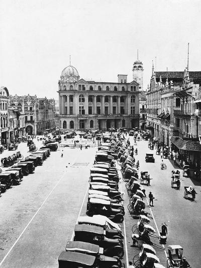 Raffles Square--Photographic Print