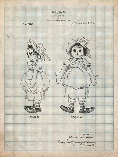 Rag Doll-Cole Borders-Art Print