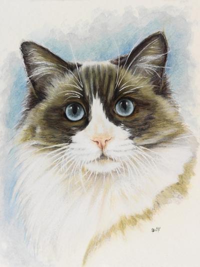 Ragdoll-Barbara Keith-Giclee Print