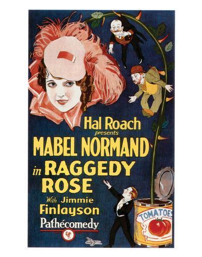 Raggedy Rose - 1926--Giclee Print