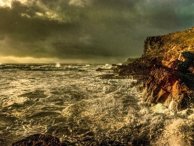 Raging Skies-Mark Gemmell-Photographic Print