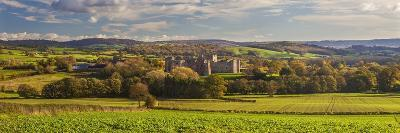 Raglan Castle, Monmouthshire, Wales, United Kingdom, Europe-Billy Stock-Photographic Print