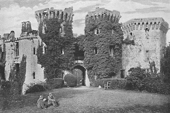'Raglan Castle: The Gateway', c1896-GW Wilson and Company-Photographic Print