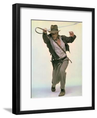 Raiders of the Lost Ark 1981 Directed by Steven Spielberg Harrison Ford--Framed Photo