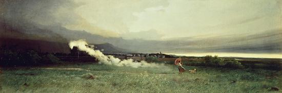 Railroad, 1870-Tammar Luxoro-Giclee Print