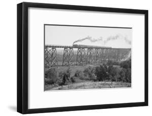 Railroad Bridge over the Demoines River