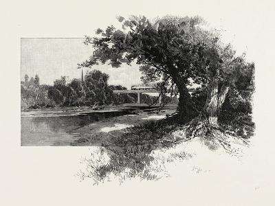 Railroad Bridge, Paris, Canada, Canada, Nineteenth Century--Giclee Print