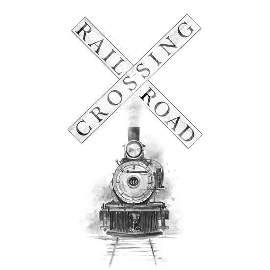 Railroad Crossing-Patricia Pinto-Art Print