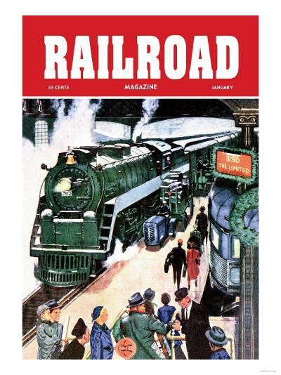 Railroad Magazine: The Limited, 1952--Art Print