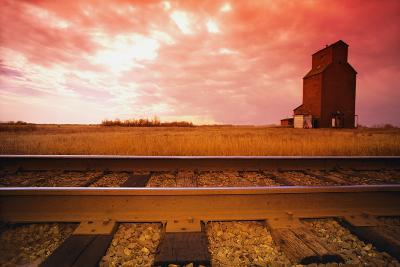 Railroad Tracks--Photographic Print