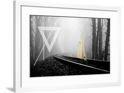Railroad-Kathryn N/A-Framed Art Print