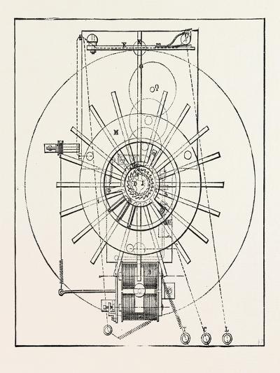 Railway Apparatus at the Paris Electrical Exhibition: Guggemos's Correspondence Apparatus--Giclee Print