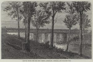 Railway Bridge over the River Bremer, Queensland, Australia