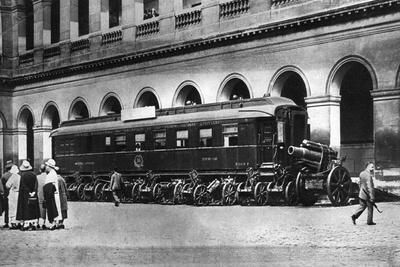 Railway Carriage in Which the Armistice Ending World War I Was Signed, C1918--Giclee Print