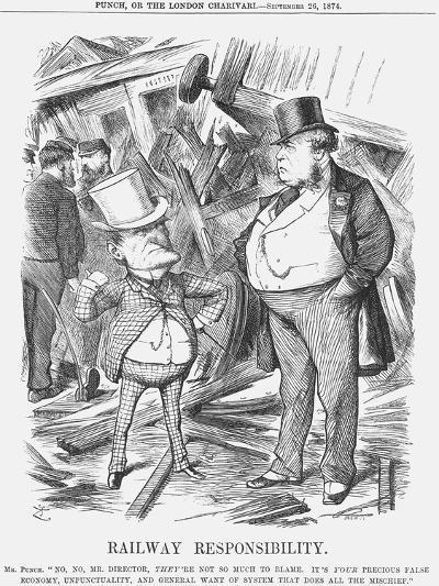 Railway Responsability, 1874-Joseph Swain-Giclee Print