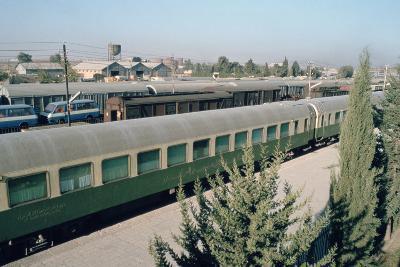 Railway Station Where Agatha Christie Arrived, Mosul, Iraq, 1977-Vivienne Sharp-Photographic Print