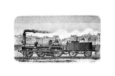 Railway Steam Locomotive Designed in 1849--Giclee Print
