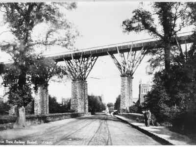 Railway Viaduct, Truro, Cornwall--Photographic Print