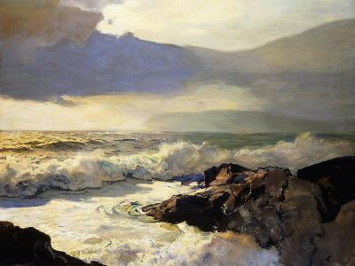 Rain Clouds and Sea-Frederick Judd Waugh-Giclee Print