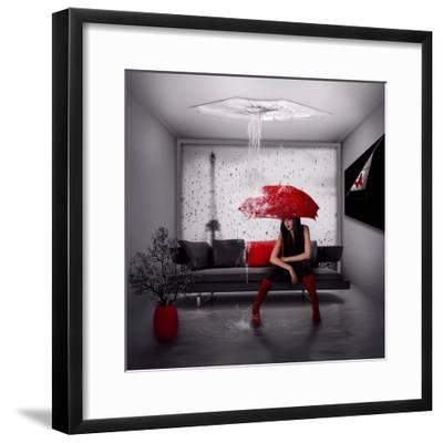 Rain in Paris- Nataliorion-Framed Photographic Print