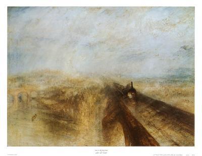 Rain, Steam and Speed-J^ M^ W^ Turner-Art Print