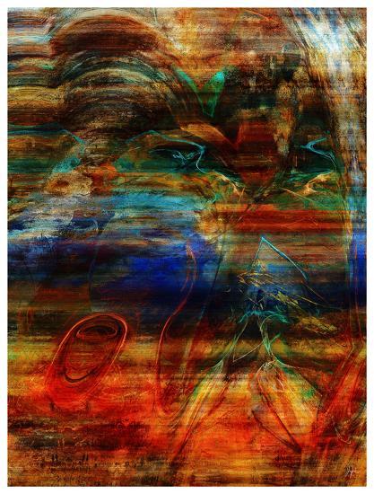 Rainbow Abstract-Jean-Fran?ois Dupuis-Art Print