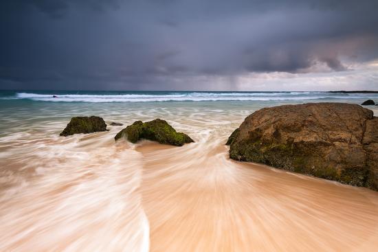 Rainbow Bay Beach at Dawn-p a w e l-Photographic Print