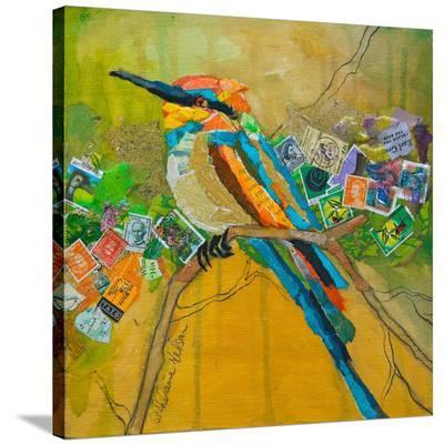 Rainbow Bee Eater--Stretched Canvas Print