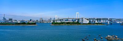 Rainbow Bridge over Tokyo Bay, Tokyo, Honshu, Kanto Region, Japan--Photographic Print