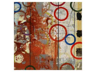 Rainbow Circles V-Yashna-Art Print