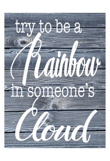 Rainbow Cloud-Melody Hogan-Art Print
