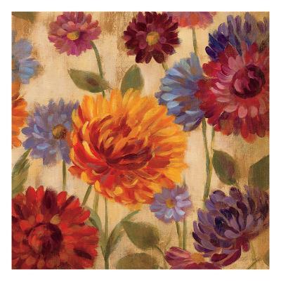 Rainbow Dahlias Crop III-Silvia Vassileva-Premium Giclee Print