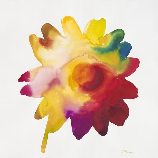 Rainbow Daisy 1-Paulo Romero-Art Print