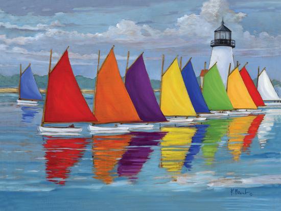 Rainbow Fleet-Paul Brent-Premium Giclee Print