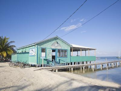 Rainbow Grill and Bar, Caye Caulker, Belize, Central America-Jane Sweeney-Photographic Print