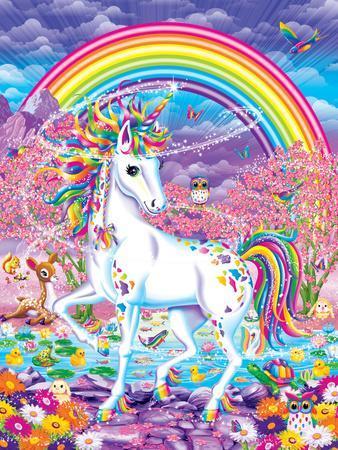 Rainbow Mischief Art Print By Lisa Frank Artcom