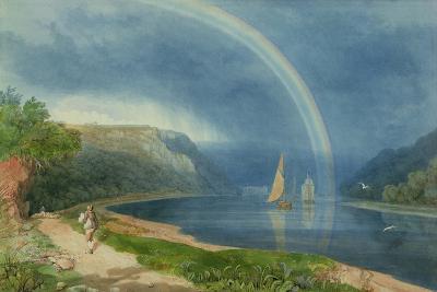Rainbow on the River Avon, C.1825-Samuel Jackson-Giclee Print