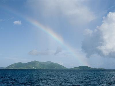 Rainbow over the British Virgin Islands-Heather Perry-Photographic Print