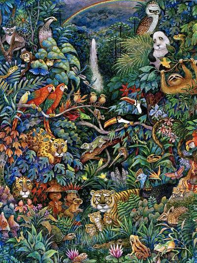 Rainbow Rainforest-Bill Bell-Giclee Print