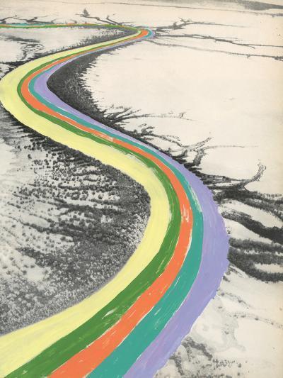 Rainbow Road-Danielle Kroll-Giclee Print