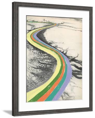 Rainbow Road-Danielle Kroll-Framed Giclee Print