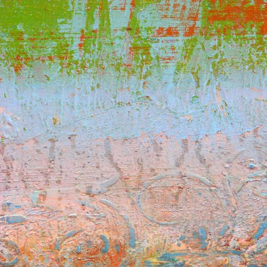Rainbow Sherbet Abstract-Ricki Mountain-Art Print