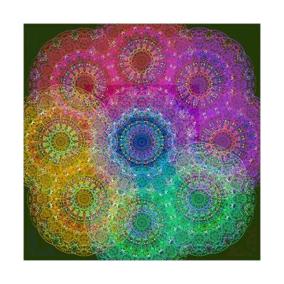 Rainbow Station Sky I-Alaya Gadeh-Art Print