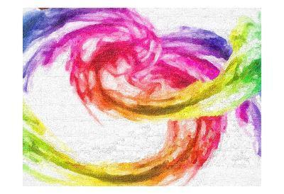 Rainbow Swirl-Taylor Greene-Art Print
