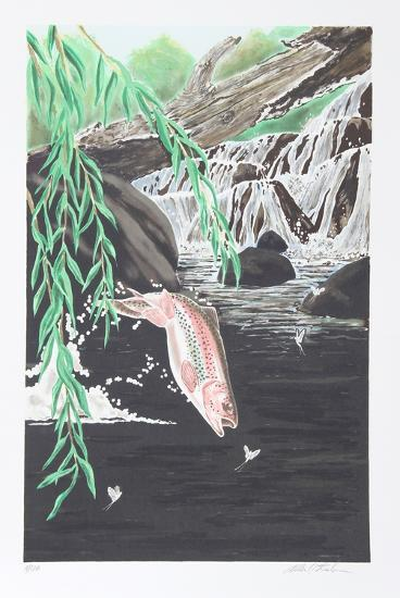 Rainbow Trout-Allen Friedman-Collectable Print