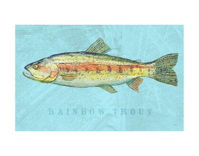 Rainbow Trout-John W^ Golden-Art Print