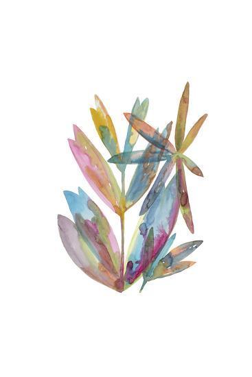 Rainbow Wish 1-Erin Lin-Premium Giclee Print