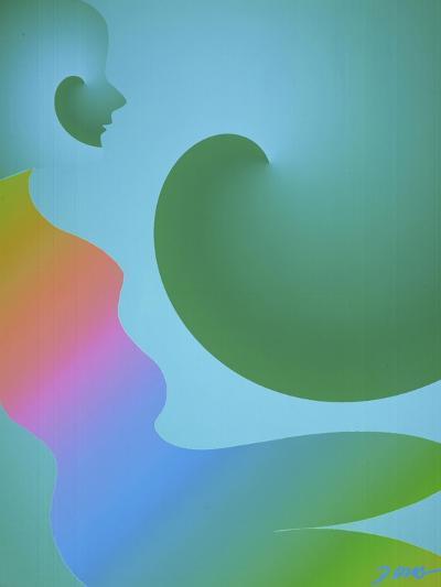Rainbow Woman-Diana Ong-Giclee Print
