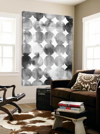 Raindots Black and White--Loft Art