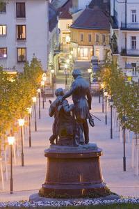 Austria, Lower Austria, Baden Near Vienna, Thermal Bath, Health Resort Park by Rainer Mirau